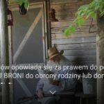 57% Polaków opowiada się za prawem do posiadania LEGALNEJ BRONI do obrony rodziny lub domu