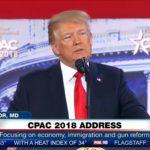 """Trump na konferencji konserwatystów CPAC 2018: """"Jeśli Demokraci dostaną się do Kongresu zabiorą wam Drugą Poprawkę do konstytucji"""""""