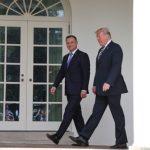 Prezydent Trump zaprasza prezydenta Dudę do Białego Domu na kilka dni przed wyborami w Polsce…