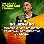Jair Bolsonaro, zwolennik naturalnego ludzkiego prawa do posiadania broni, wygrał wybory prezydenckie w Brazylii