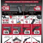 W czasie tegorocznego Black Friday w USA sprzedano ponad 182 tysiące egzemplarzy broni