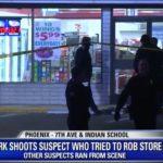 Z cyklu broń ratuje życie: pracownik sklepu postrzelił przestępcę, gdy ten dokonywał kolejnego tego dnia rozboju
