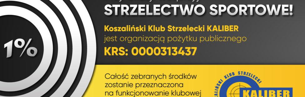 Przekaż 1% podatku na rozwój strzelectwa sportowego w Polsce