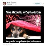 W dawniej Polsce w Nowy Rok z rusznic strzelano, dzisiaj polskiemu lewactwu nawet fajerwerki przeszkadzają