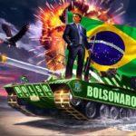 Prezydent Brazylii Jair Bolsonaro przepędza socjalistyczne świnie od koryta i sprzedaje chlew