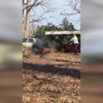 Z  cyklu broń ratuje życie: uzbrojony mężczyzna zatrzymał trzech włamywaczy biorąc ich na cel swojej broni