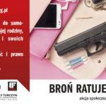"""Już wkrótce takie bilbordy pojawią się w twoim mieście """"Broń ratuje życie – akcja społeczna"""" – informacje"""