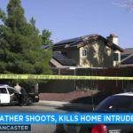 Z cyklu broń ratuje życie: ojciec strzela do włamywacza w obronie własnej i dzieci