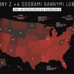Strzelaniny w USA – internetowy obraz jest krzywy