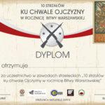 10 strzałów ku chwale Ojczyzny w rocznicę Bitwy Warszawskiej – zapraszam na zawody strzeleckie