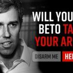 USA. Plany konfiskaty broni Beto O'Rourke'a pokazują, dlaczego posiadacze broni muszą zostawić swój błogostan za sobą