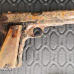 Pistolet VIS znaleziony na strychu – zardzewiały, z zaczopowaną lufą, bez amunicji – to niebezpieczny przedmiot zdaniem Policji