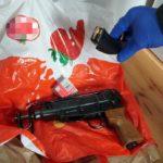 Handel narkotykami i nielegalna broń palna, to nierozłączna para – przykład z centralnej Polski