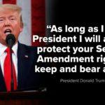Donald Trump w orędziu o stanie Ameryki: jak długo będę Prezydentem, zawsze będę bronił prawa ludzi do posiadania i noszenia broni
