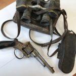 Do Muzeum Wojska w Białymstoku trafił rewolwer znaleziony podczas remontu kamienicy w Białymstoku