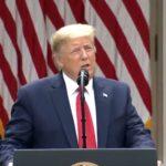 Prezydent Donald Trump: zrywamy relacje ze Światową Organizacją Zdrowia, oraz: Hongkong nie jest już autonomiczny