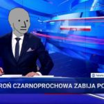 """Propaganda rządowej TVP nadaje: """"broń czarnoprochowa zabija Polaków"""""""