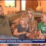 Z cyklu broń ratuje życie: domownik zastrzelił włamywacza uzbrojonego w kij, który był bez ubrania w sypialni córki – rodzina jest bezpieczna