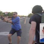 Z cyklu broń ratuje życie: w Nowym Meksyku skuteczna obrona z użyciem broni palnej przed atakiem lewackich zadymiarzy