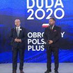 Prezes UPR Bartosz Józwiak mówiąc o broni palnej uzasadnia swoje poparcie dla kandydata Andrzeja Dudy