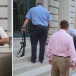 Bronił się przed agresywnym tłumem, prokurator polecił odebrać mu broń – takie rzeczy niestety też w Ameryce