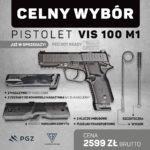 Polski pistolet VIS 100 w sprzedaży na rynku cywilnym, ustawiam się w kolejce do sklepu z bronią