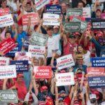 Broń, Bóg i Trump – wiec Prezydenta USA w Karolinie Północnej