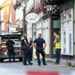 Z cyklu broń ratuje życie: właściciel sklepu z biżuterią w Celle w Dolnej Saksonii zastrzelił dwóch uzbrojonych rozbójników