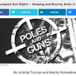 O broni palnej w Polsce w Ameryce