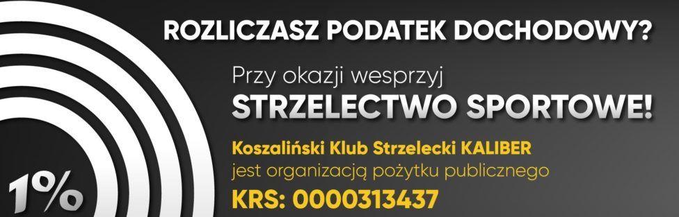 Przekaż 1% zrabowanych ci w podatkach pieniędzy na rozwój strzelectwa sportowego w Polsce