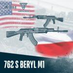 Karabinek 762 S Beryl M1 był przez chwilę w sprzedaży w USA