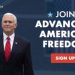 Były wiceprezydent Pence ogłosił powstanie nowej konserwatywnej grupy politycznej – Advancing American Freedom
