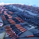US Navy przechwyciła statek pełen broni strzeleckiej na Morzu Arabskim