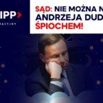 """Pastor Paweł Chojecki został skazany za słowa, np. za nazwanie prezydenta Dudy """"agentem śpiochem"""""""